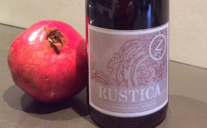2016 Z Wine Rustica Barossa ValleyGrenache