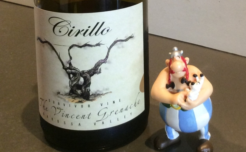 2016 Cirillo The Vincent Barossa Grenache