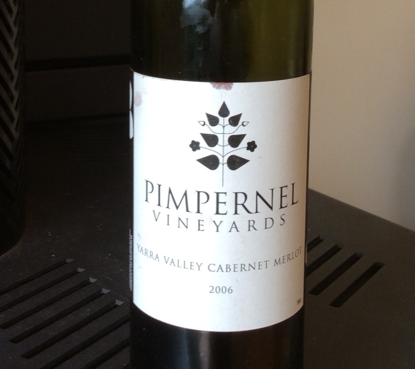 2006 Pimpernel Vineyards Yarra Valley Cabernet Merlot
