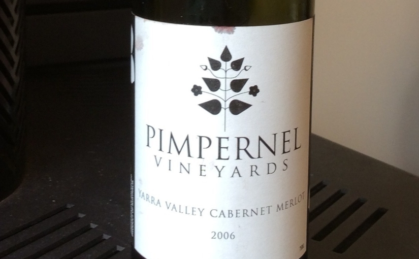 2006 Pimpernel Vineyards Yarra Valley CabernetMerlot