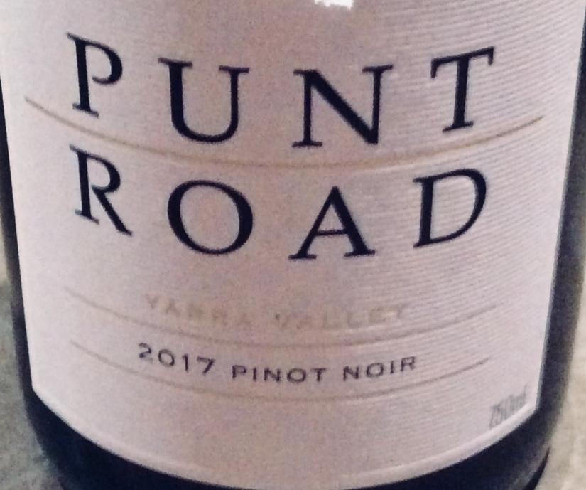 2017 Punt Road PinotNoir