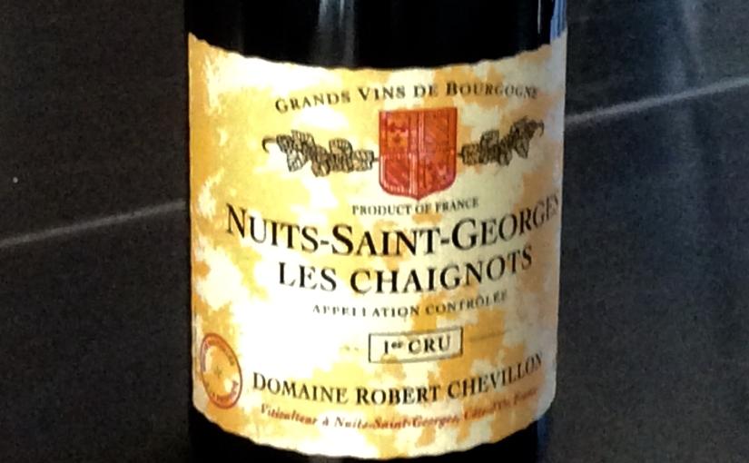 2002 Robert Chevillon Nuits Saint Georges Les Chaignots 1erCru
