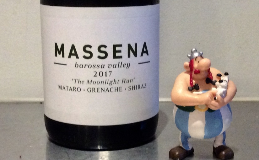 2017 Massena The Moonlight Run Mataro Grenache Shiraz