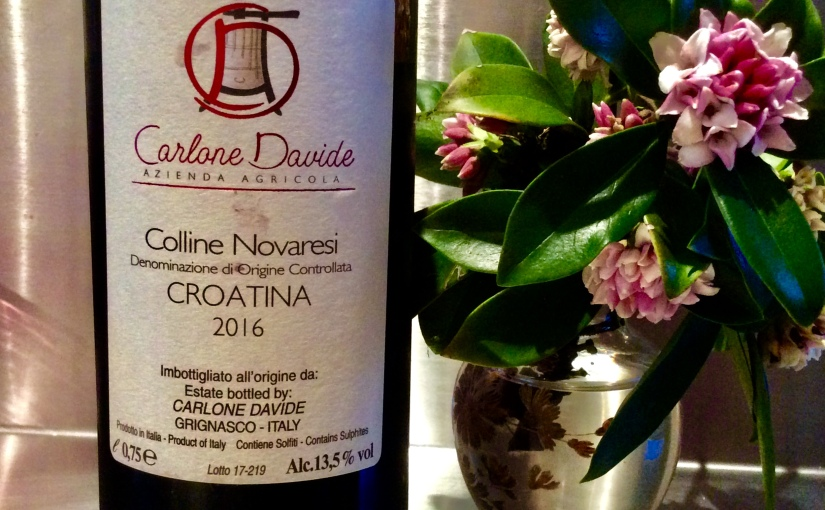 2016 Carlone Davide Croatina Colline Novaresi