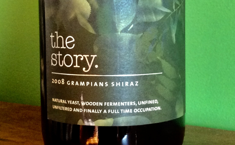 2008 The Story Grampians Shiraz
