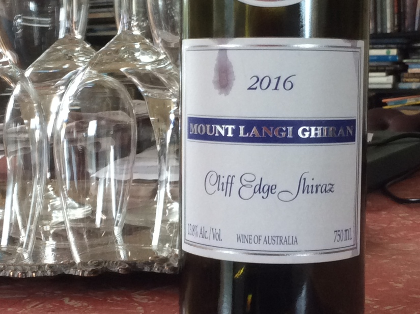 2016 Mount Langi Ghiran Cliff Edge Shiraz