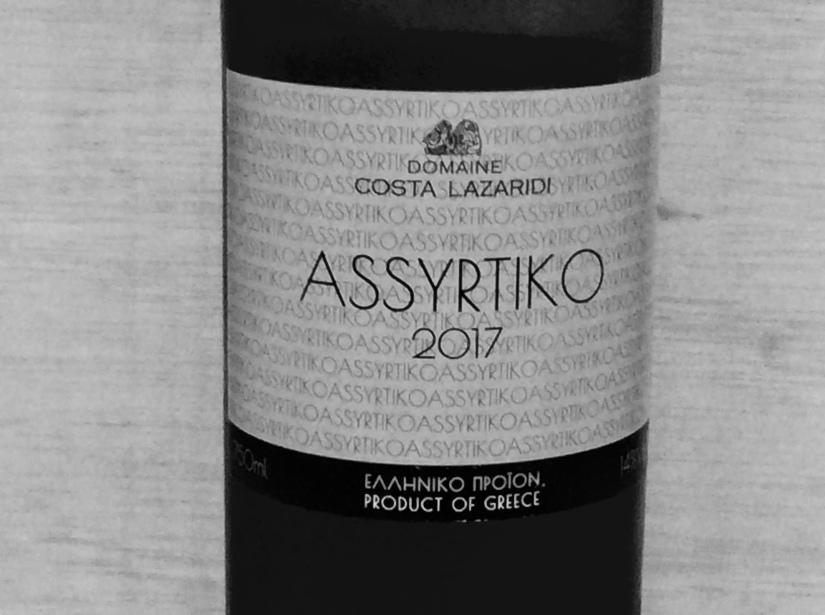 2017 Domaine Costa LazaridiAssyrtiko