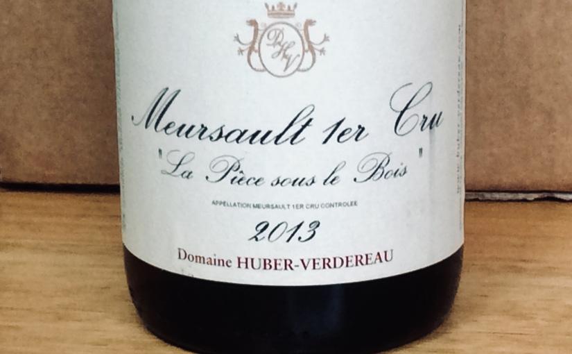 2013 Domaine Huber-Verdereau Meursault 1er Cru La Pièce sous leBois