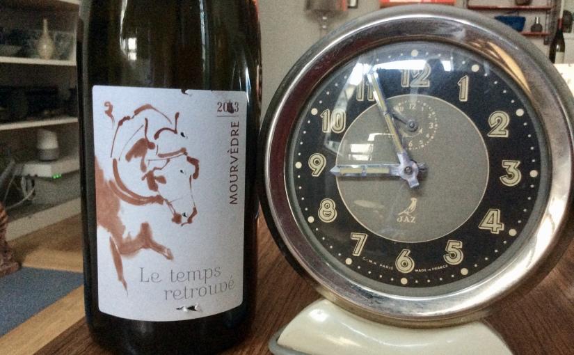 2013 Le Temps RetrouvéMourvèdre