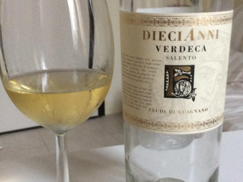 2017 Feudi di Guagnano Diecianni SalentoVerdeca