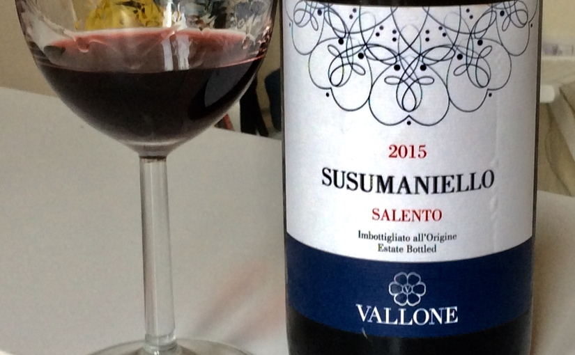 2015 Vallone Salento Susumaniello