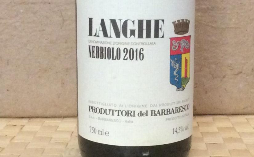 2016 Produttori del Barbaresco LangheNebbiolo