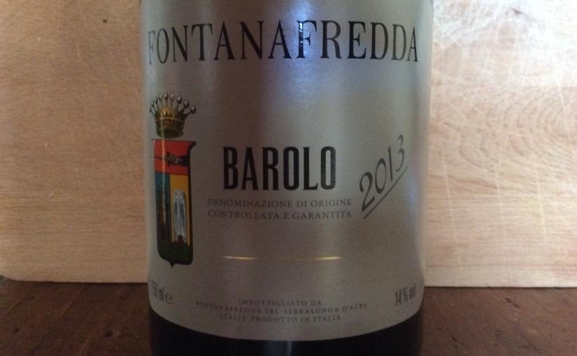 2013 Fontanafredda Barolo