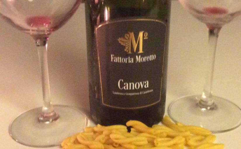 NV Fattoria Moretto Canova Lambrusco Grasperossa diCastelvetro