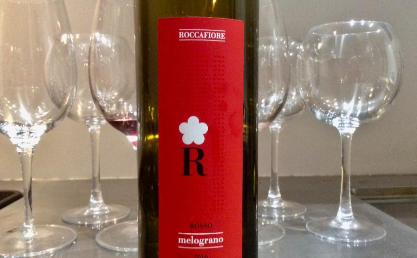 2016 Roccafiore Melograno Umbria RossoIGT