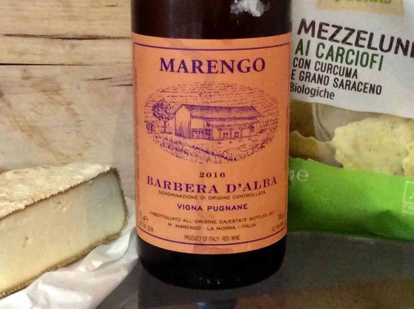 2016 Marengo Barbera d'Alba VignaPugnane