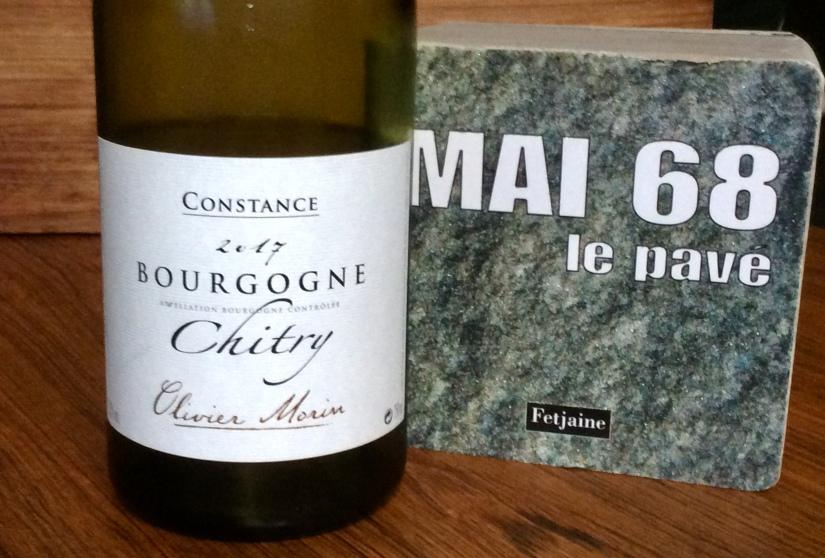 2017 Domaine Olivier Morin  Constance BourgogneChitry