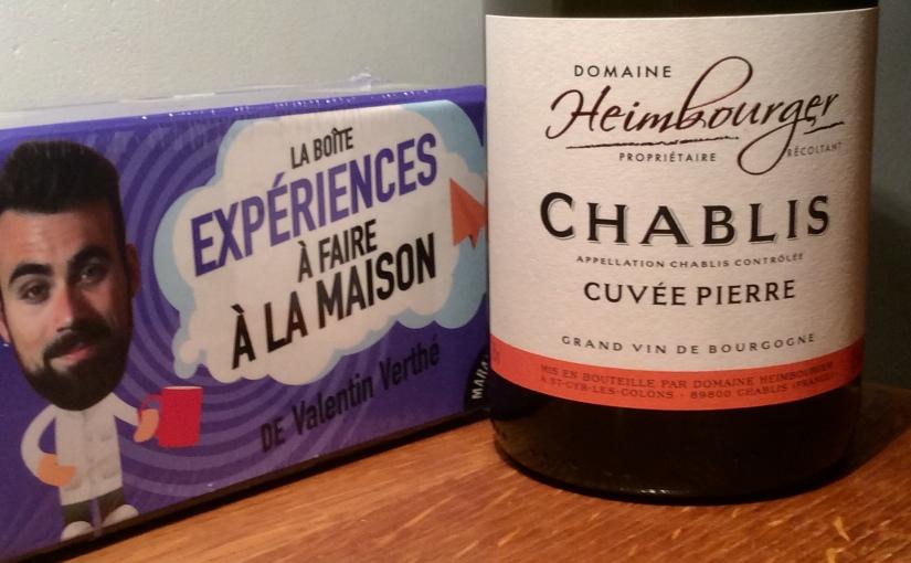 2017 Domaine Heimbourger Chablis CuvéePierre