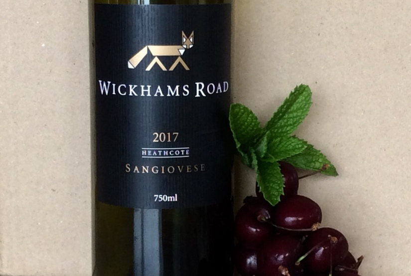 2017 Wickhams Road Heathcote Sangiovese