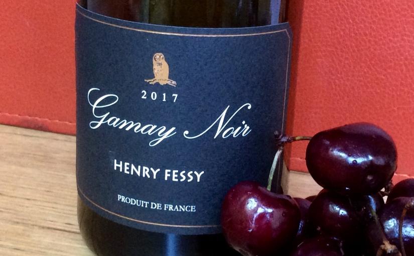 2017 Henry Fessy GamayNoir