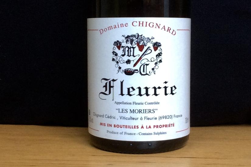 2017 Domaine Chignard Fleurie LesMoriers