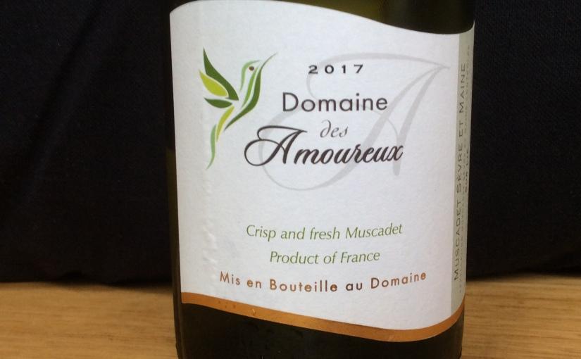 2017 Domaine des Amoureux  Crisp and freshMuscadet