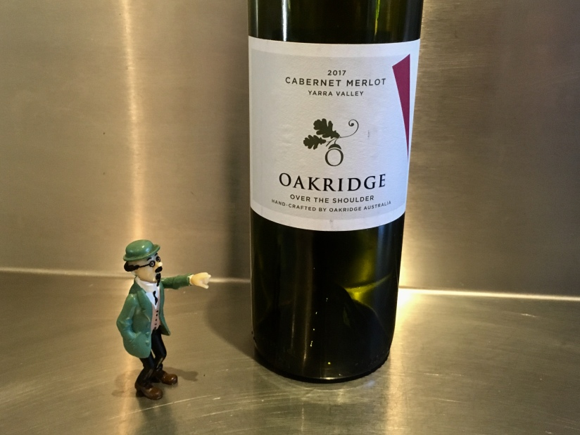 2017 Oakridge Over the Shoulder Cabernet Merlot