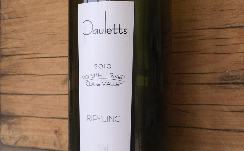 2010 Pauletts Polish Hill River Clare Valley Riesling
