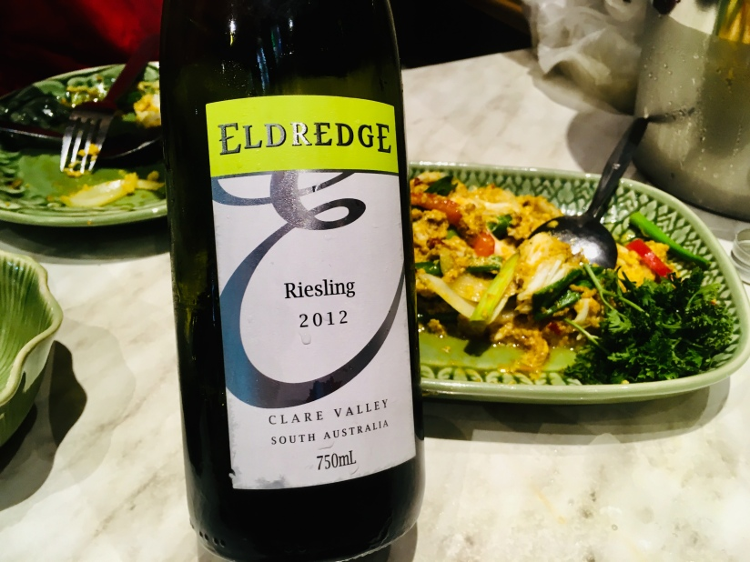 2012 Eldredge Clare Valley Riesling