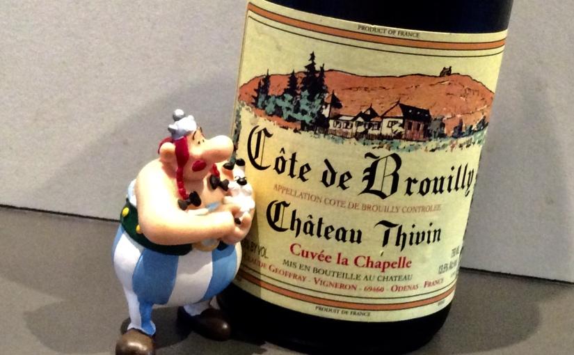 2009 Château Thivin Côte de Brouilly Cuvée laChapelle
