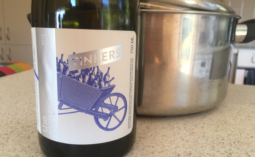 2012 The Story Tinkers Grampians Shiraz