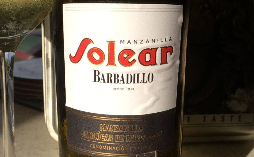 Barbadillo Solear Manzanilla – lot bottled in 2017