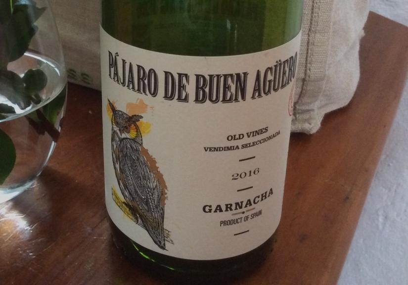 2016 Pájaro de Buen Agüero CariñenaGarnacha