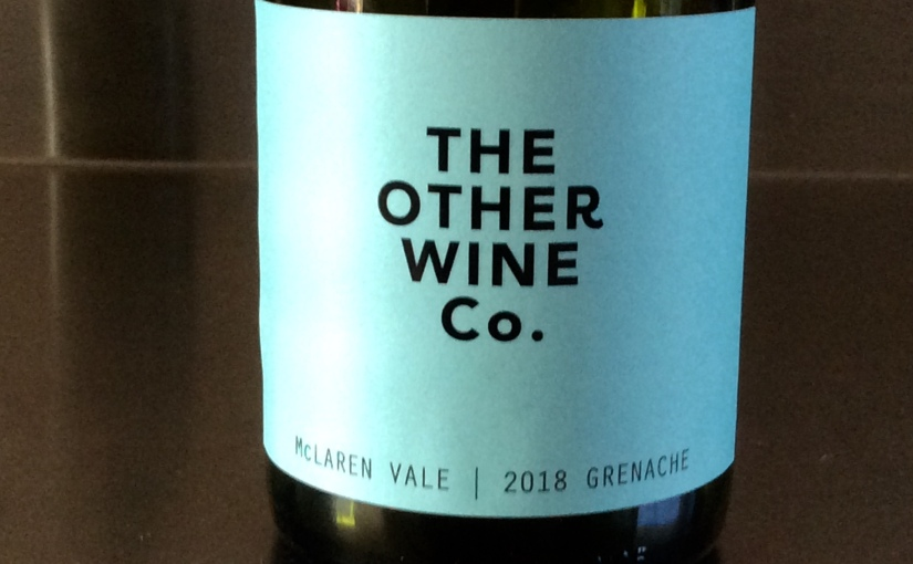 2018 The Other Wine Co. McLaren Vale Grenache