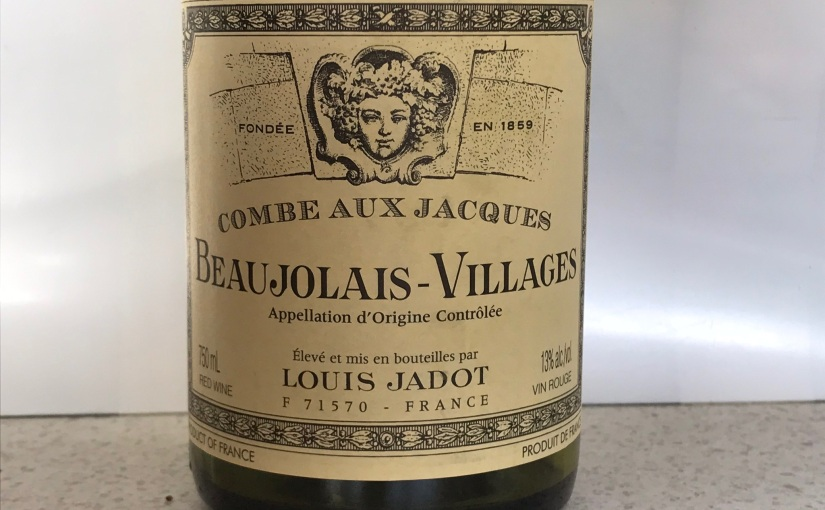 2017 Louis Jadot Combe aux Jacques Beaujolais Villages