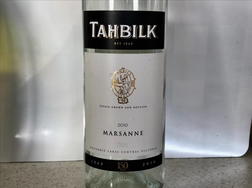 2010 Tahbilk Marsanne