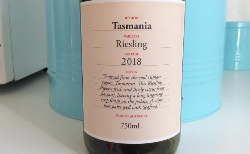 2018 Tasmanian Riesling, a Murphy'scleanskin