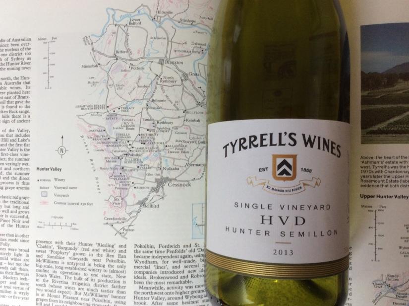 2013 Tyrrell's Wines HVD Single VineyardSemillon