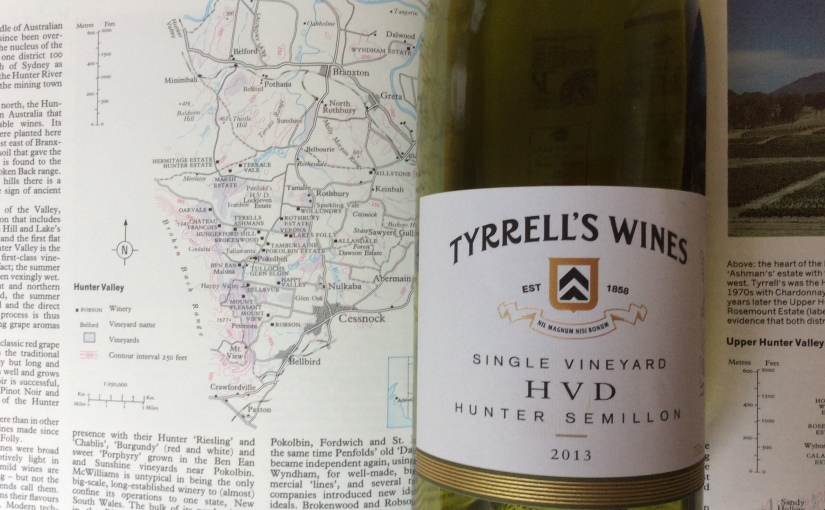 2013 Tyrrell's Wines HVD Single Vineyard Semillon