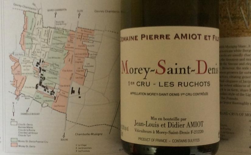 2005 Domaine Pierre Amiot et Fils Morey St Denis 1er Cru LesRuchots