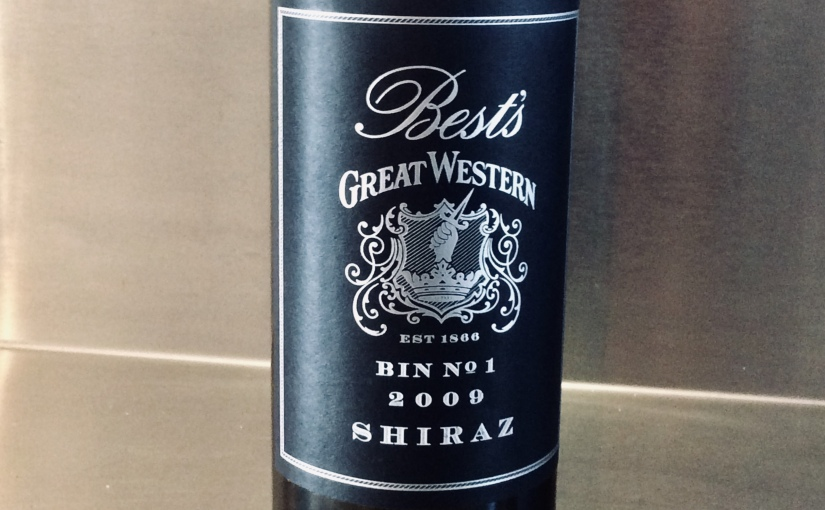 2009 Best's Bin No. 1 Great Western Shiraz