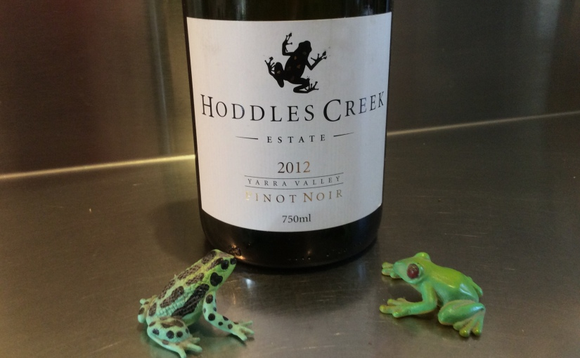 2012 Hoddles Creek Yarra Valley Pinot Noir