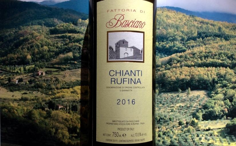 2016 Fattoria Basciano ChiantiRufina.