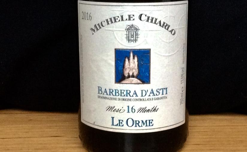 2016 Michele Chiarlo Barbera d'Asti LeOrme