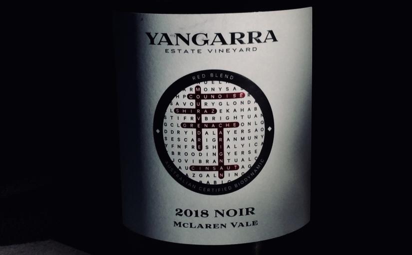 2018 Yangarra Noir