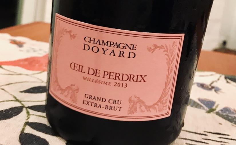 2013 Champagne Doyard Oeil de Perdrix Grand Cru ExtraBrut