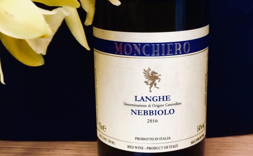 2016 Monchiero LangheNebbiolo