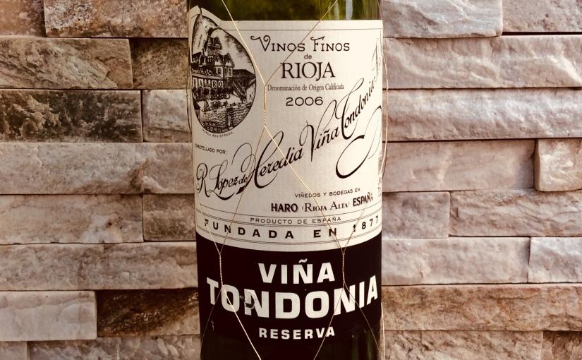 2006 R. Lopez de Heredia Viña Tondonia RiojaReserva