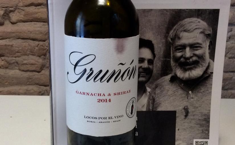 2014 Locos por el Vino Gruñón Garnacha Shiraz Campo deBorja