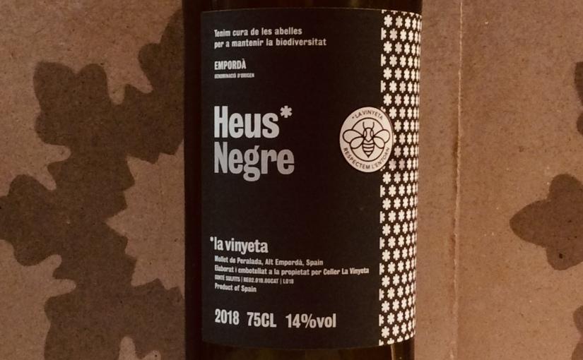 2018 La Vinyeta Heus Negre. EmpordàDO